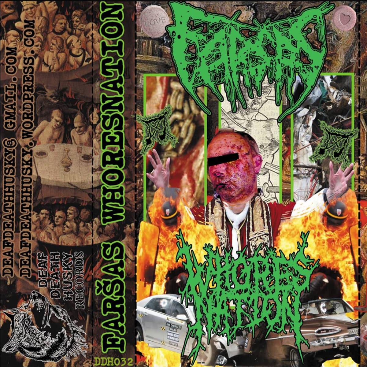 Whoresnation / Farsas - Split