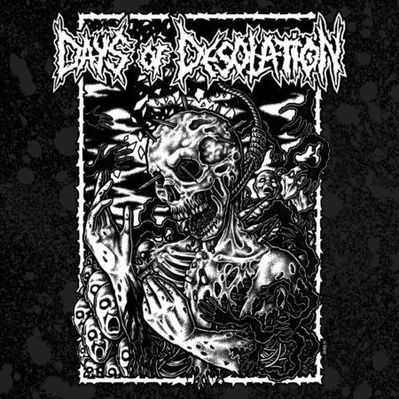 Days of Desolation / Controlled Existence - Split