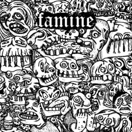 "Famine / Satanic Malfunctions Split 7"""