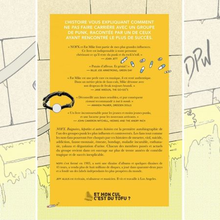 NoFX - Baignoires Hépatites & Autres Histoires - BOOK