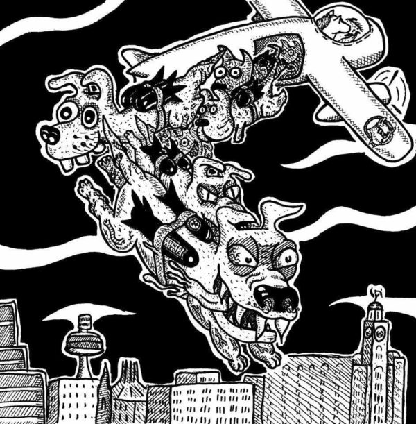 Rageous Intent / Horsebastard - Split