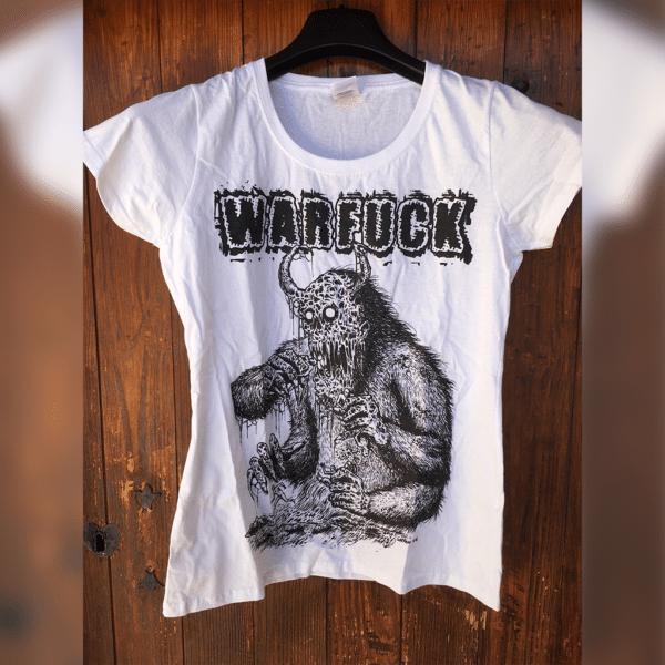 Warfuck - monstre white TSHIRT