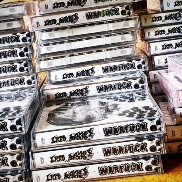 Warfuck / Into Sickness - Split tape