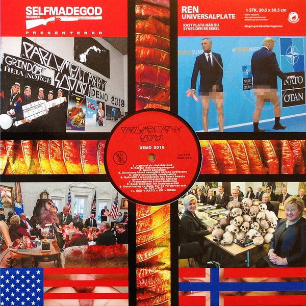 Psudoku / Parlamentarisk Sodomi – Report From The 10th Dimension / Demo 2018