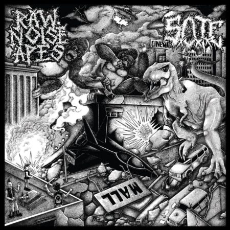 SxOxTxE / Raw Noise Apes - Untitled/Escape From The World Of Stone - Split