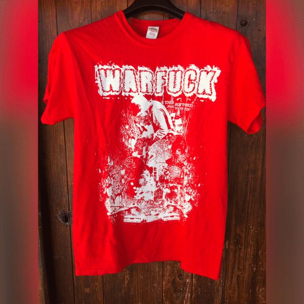 Warfuck - Ethan red TSHIRT